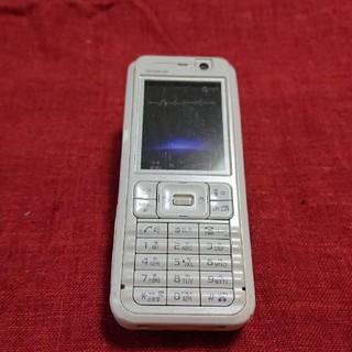 エヌティティドコモ(NTTdocomo)のドコモ SO902i ホワイト ガラケー本体(携帯電話本体)
