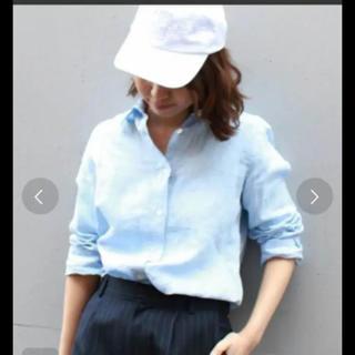 FRAMeWORK - フレームワーク リネンシャツ ブルー
