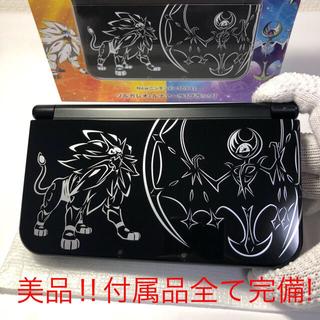 ニンテンドー3DS - 美品‼︎ NEWニンテンドー3DSLL ポケモンソルガレオブラック 送料込!