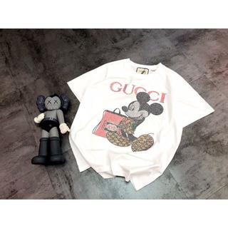 グッチ(Gucci)のGuuci 白いミッキーマウス(Tシャツ(半袖/袖なし))