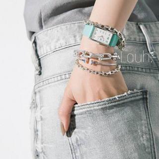 Maison Martin Margiela - j348.Tiffany T chain bracelet(silver)