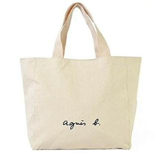 agnes b. - 新品⭐アニエスべ-ト-トバッグ アイボリー