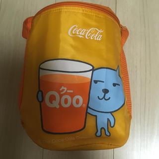 コカコーラ(コカ・コーラ)のQoo☆クー☆コカコーラ☆Coca-Cola☆アルミバッグ☆保冷バッグ☆オレンジ(ノベルティグッズ)