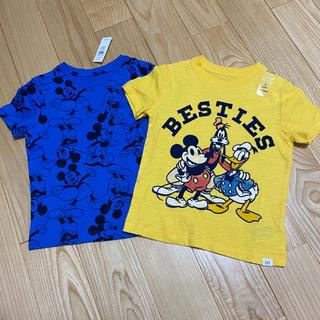 ベビーギャップ(babyGAP)の新品 babyGap  ディズニー Tシャツ セット 100(Tシャツ/カットソー)
