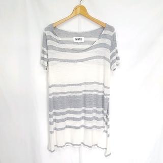 エムエムシックス(MM6)の★MM6 Maison Margiela ボーダー デザイン カットソー(Tシャツ(半袖/袖なし))