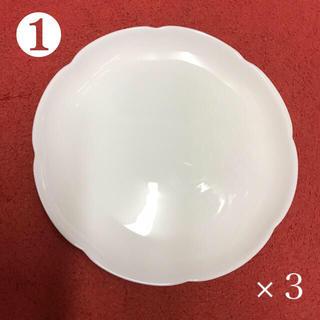 ヤマザキセイパン(山崎製パン)のヤマザキパンの白い皿各種11枚(食器)