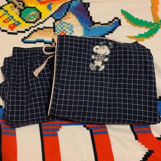 ジーユー(GU)のGU スヌーピー パジャマ(パジャマ)