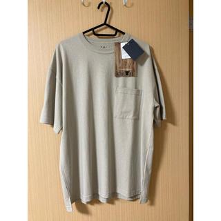 しまむら - 新品未使用 メンズビッグTシャツ ベージュ