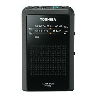 東芝 - 送料無料!東芝 デジタルチューナーAM/FMラジオ/ブラック/TY-APR4