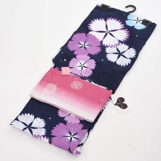 浴衣帯セット(ロングサイズ)Jouer  ete couleur(浴衣)