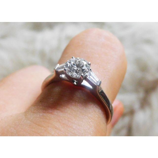 HARRY WINSTON(ハリーウィンストン)の【GRAFF】プロミスリング ダイヤモンド 0.53ct+0.15ct 8.5号 レディースのアクセサリー(リング(指輪))の商品写真