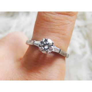 ハリーウィンストン(HARRY WINSTON)の【GRAFF】プロミスリング ダイヤモンド 0.53ct+0.15ct 8.5号(リング(指輪))