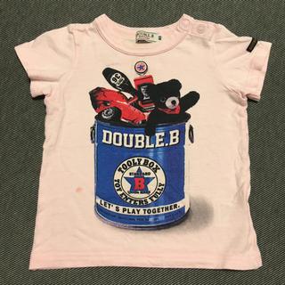 ダブルビー(DOUBLE.B)のミキハウス ダブルビー Tシャツ 80(Tシャツ)