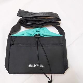 ミルクフェド(MILKFED.)のMILKFED. 外ポケット付き ショルダーバッグ ミルクフェド(ショルダーバッグ)