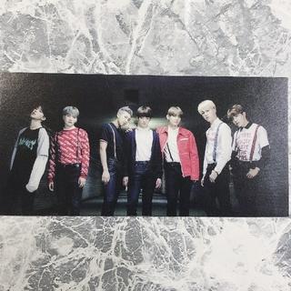 防弾少年団(BTS) - 🌈YOUTH アルバム購入特典  チケット型カードトレカ ポストカード  貴重
