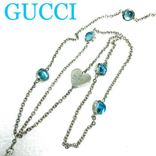 Gucci - 本日価格☆正規品☆GUCCI ブルートパーズ ネックレス