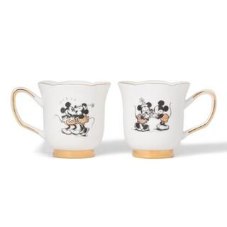 フランフラン(Francfranc)のミッキー ミニー  ペア マグカップ(グラス/カップ)