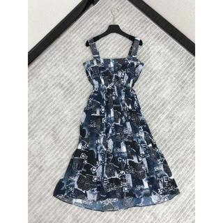 CHANEL☆ ジョーゼット ドレス♪