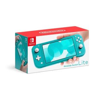 ニンテンドースイッチ(Nintendo Switch)のニンテンドー スイッチライト ターコイズ(携帯用ゲーム機本体)