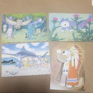 11ぴきのねこと仲間たち ポストカード(カード/レター/ラッピング)