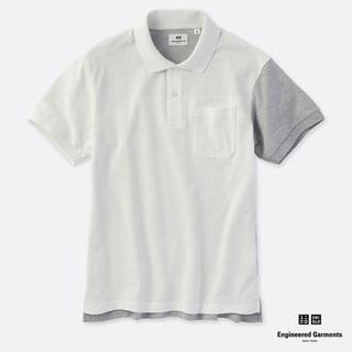 ユニクロ(UNIQLO)の新品 ドライカノコ カラーブロックポロシャツ(ポロシャツ)