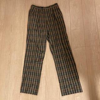 クリスチャンディオール(Christian Dior)のクリスチャンディオール スポーツ チェック スラックス パンツ 79 メンズ(ウエア)