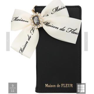 Maison de FLEUR - Maison de FLEUR ロゴリボン iPhoneケース XS X