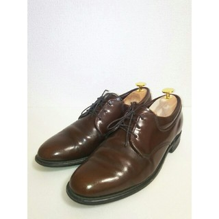 レッドウィング(REDWING)のUSA製 サイズ8D ufcw プレーントゥ サービスシューズ 革靴 レザー(ドレス/ビジネス)