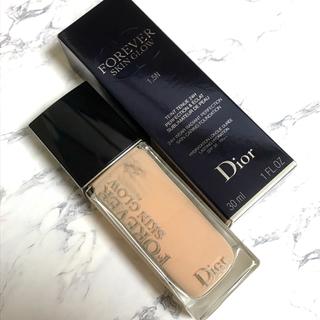 ディオール(Dior)のDior ディオールスキン フォーエヴァー フルイドグロウ1.5N おまけ付き(ファンデーション)