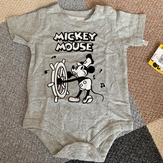 Disney - ミッキー ロンパース 70