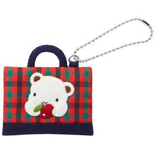 familiar - 新品未使用  ストラップ(デニムバッグ型)(店舗限定)    クマ