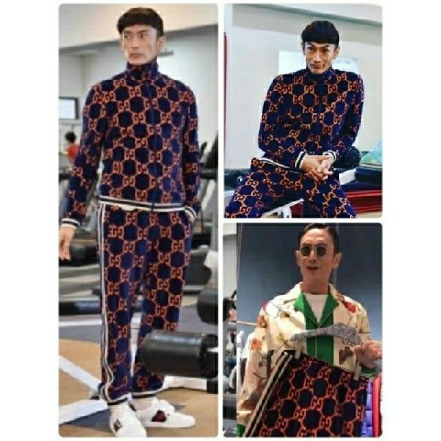 Gucci(グッチ)のグッチ シェニール ジャージ メンズのトップス(ジャージ)の商品写真