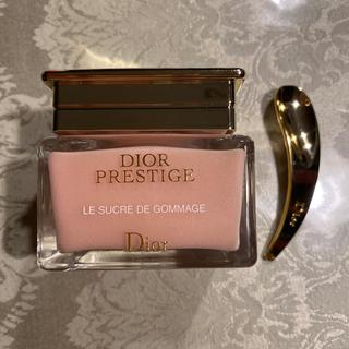 ディオール(Dior)のDIOR ディオール プレステージ ル ゴマージュ 数回使用 UVおまけ(ゴマージュ/ピーリング)
