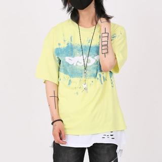 【新品 未使用】ブリーチ 半袖Tシャツ [yellow]