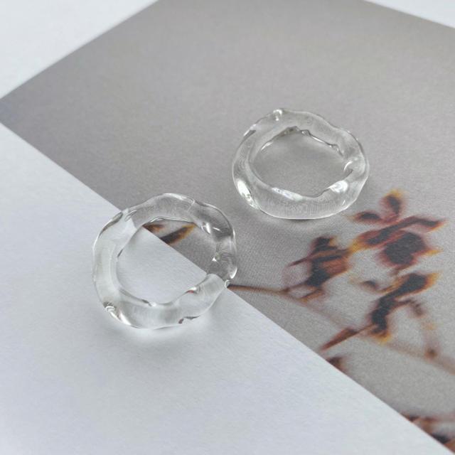 即納_ Natural clear ring レディースのアクセサリー(リング(指輪))の商品写真