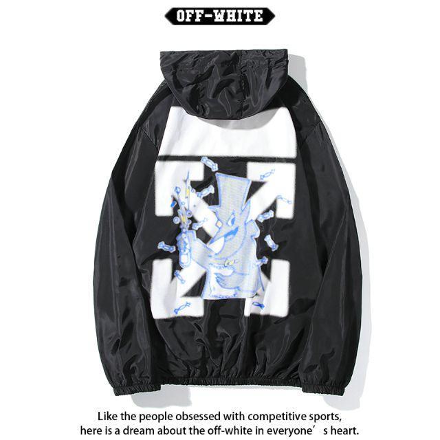 OFF-WHITE(オフホワイト)のOFF-WHITE コート日焼け止め服 男女兼用 紫外線を防ぐ FS3-2 メンズのトップス(パーカー)の商品写真