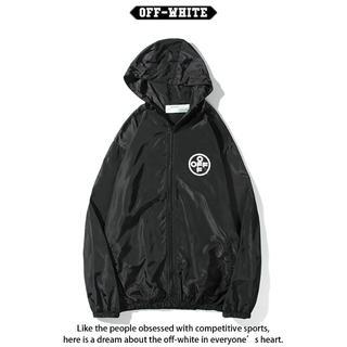 OFF-WHITE - OFF-WHITE コート日焼け止め服 男女兼用 紫外線を防ぐ FS3-2