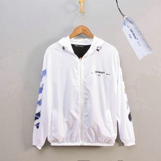 OFF-WHITE - OFF-WHITE コート日焼け止め服 男女兼用 紫外線を防ぐ FS6-2