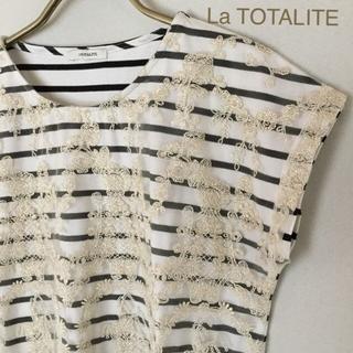 ラトータリテ(La TOTALITE)のLa TOTALITE   カットソー  お値下げ中です(カットソー(半袖/袖なし))