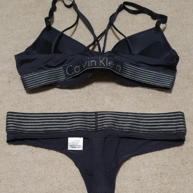 Calvin Klein(カルバンクライン)のCalvin Klein 新品未使用  レディースの下着/アンダーウェア(ブラ&ショーツセット)の商品写真