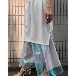Ameri VINTAGE - 新品 アメリヴィンテージ オーロラレイヤードドレス