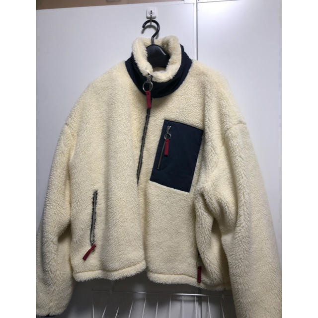 SUNSEA(サンシー)のRyo Takashima ボアジャケット メンズのジャケット/アウター(ブルゾン)の商品写真