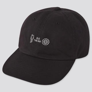 ユニクロ(UNIQLO)のUNIQLO ビリー・アイリッシュ 村上隆 キャップ BLACK(キャップ)