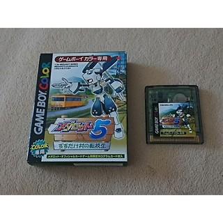 ゲームボーイ(ゲームボーイ)のゲームボーイソフト メダロット5クワガタ(携帯用ゲームソフト)