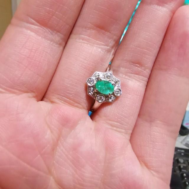 売り切り値下げ❌❢ブラジル産パライバトルマリン リング レディースのアクセサリー(リング(指輪))の商品写真