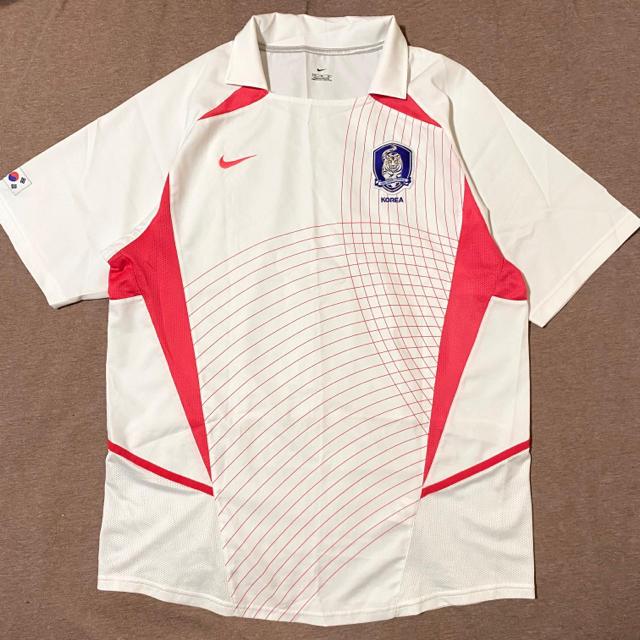 NIKE(ナイキ)のNIKE ナイキ 韓国代表 2002年 サッカーシャツ ユニフォーム スポーツ/アウトドアのサッカー/フットサル(ウェア)の商品写真