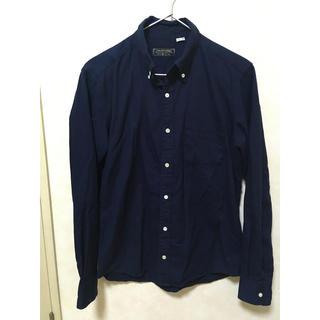 フリークスストア(FREAK'S STORE)のFREAK'S STORE ボタンダウン コットンシャツ 紺 ネイビー(シャツ)