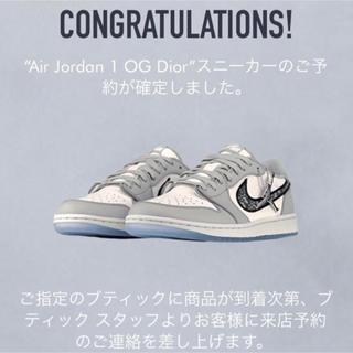 NIKE - Dior x Nike Air Jordan 1 Low
