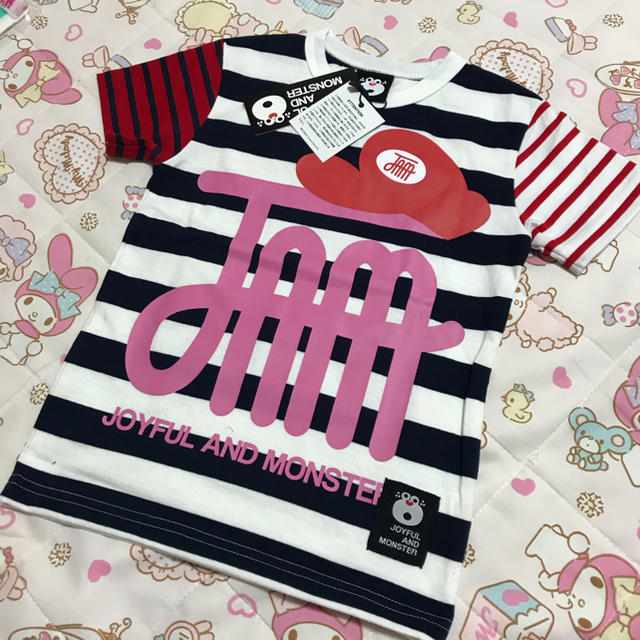 JAM(ジャム)のJAM クマオリュック Tシャツ110 キッズ/ベビー/マタニティのキッズ服男の子用(90cm~)(Tシャツ/カットソー)の商品写真