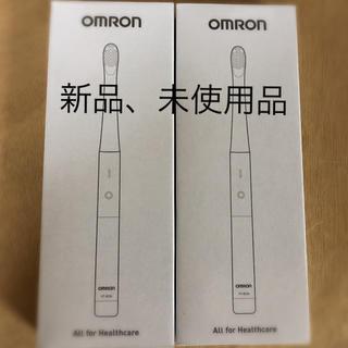 オムロン(OMRON)のOMRON HT-B224- W 2個(電動歯ブラシ)